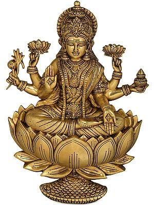 Treasured Goddess Lakshmi Wall Hanging