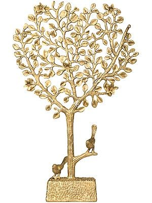 The Blossoming Tree of Life with Birds