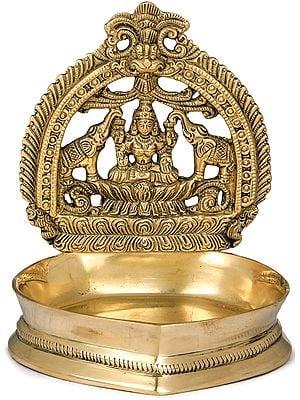 Gajalakshmi Deepam (Lamp)