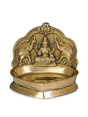 Small Gajalakshmi Lamp