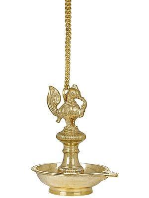 Roof Hanging Annam Lamp (Peacock Lamp)