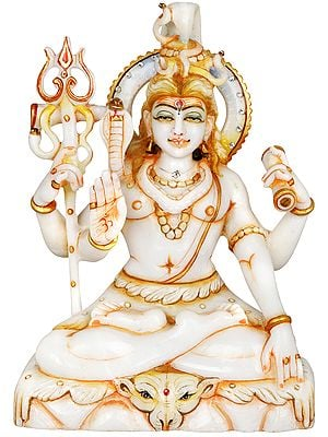 Four Armed Blessing Shiva