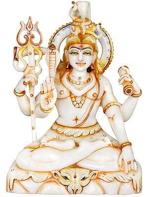 Four Armed Blessing Shiva