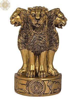 Ashoka Stambh (The National Emblem of India) Hollow Wall Hanging