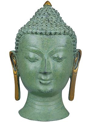 Wall Hanging Buddha Mask - Tibetan Buddhist