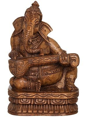 Ganesha Playing Sitar