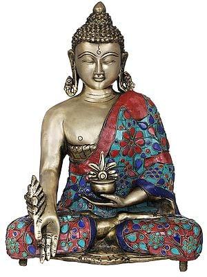 Tibetan Buddhist Healing Deity Medicine Buddha
