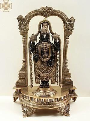 Superfine Lord Venkateshvara as Balaji at Tirupati
