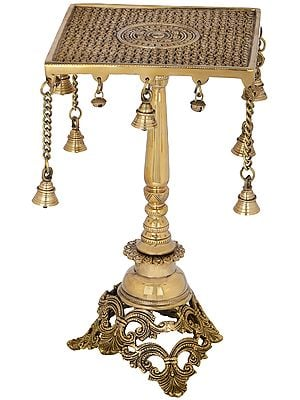 Designer Side Table with Bells