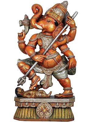 Warrior Ganesha