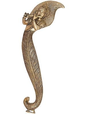 Superfine Lord Krishna Door Handle