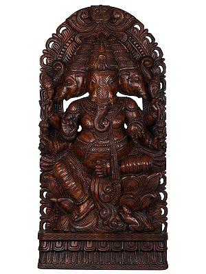 Large Size Trimukha Ganesha