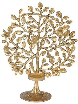 Tree Candle Holder on Stand