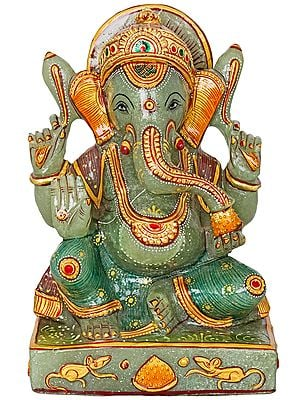 Seated Lord Ganesha