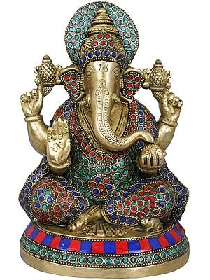 Inlaid Lord Ganesha