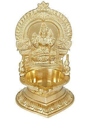 Large Rajarajeshwari Lamp