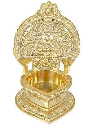 Large Ashtalakshmi Lamp