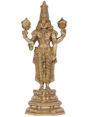 Fine Quality Lord Venkateshvara as Balaji at Tirupati