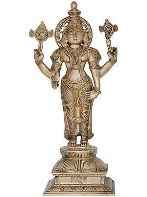 Superfine Lord Vishnu as Balaji at Tirupati