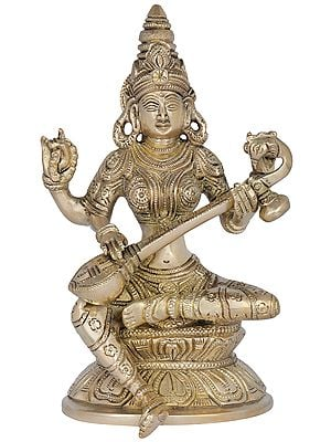 Saraswati - The Hindu Goddess of Wisdom