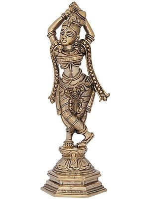 Beauteous Maiden (Inspired by Khajuraho) Fine Quality