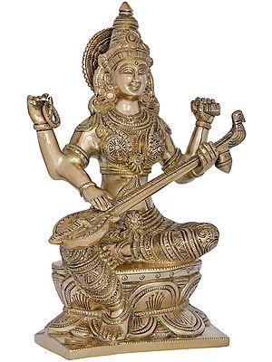 Maa Veena Vadini Saraswati