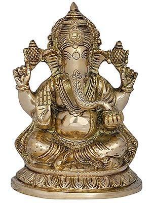 Chaturbhuja Ashirwad Ganesha