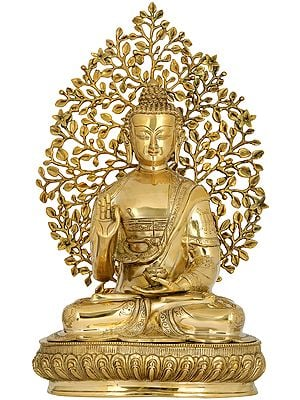 Superfine Gautam Buddha Preaching Under Bodhi Tree