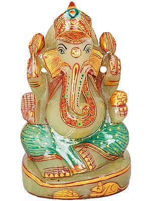 Small Jade Lord Ganesha