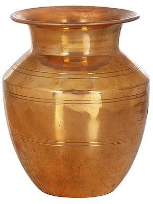 Copper Puja Kalash