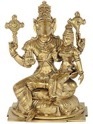 Hayagreeva with Sri Lakshmi