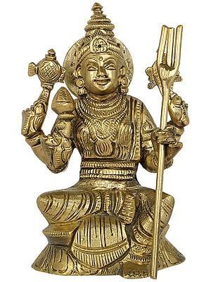 Composite Image of Goddess Lakshmi and Durga