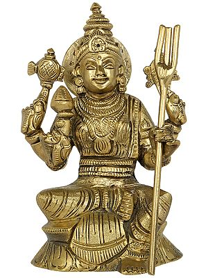 Composite Image of Goddess Lakshmi and Durga
