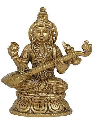 Padmasana Devi Sarasvati