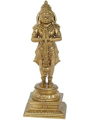 Shri Hanuman in Namaskara Mudra
