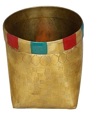 Traditional South Indian Rice Container