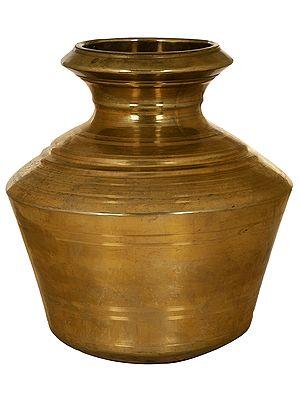 Brass Puja Kalasha