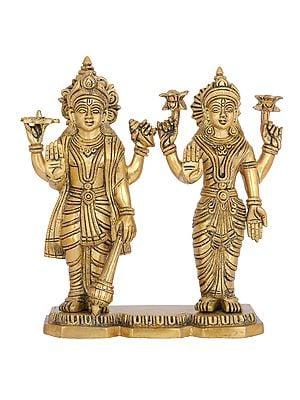 Shri Narayan with Devi Lakshmi