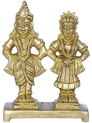 Lord Vitthal and Goddess Rukmini