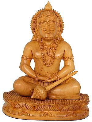 Hanuman in Dhyana Mudra