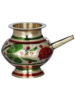 Colourful Small Ritual Kettle