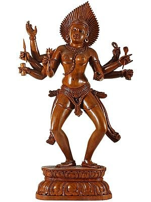 The Naked Splendour Of Devi Kali