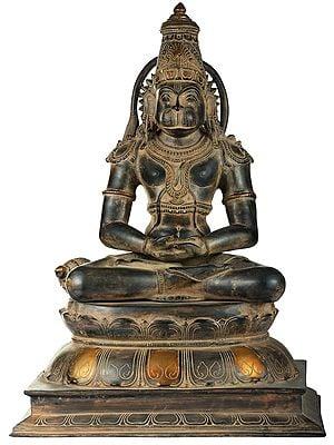 Lord Hanuman in Meditation