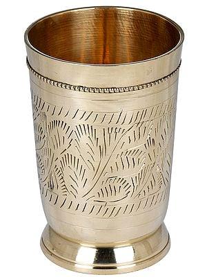 Brass Designer Glass