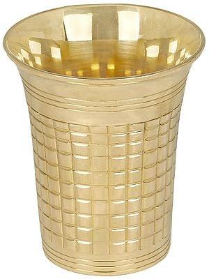 Fine Brass Glass