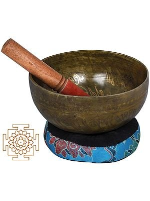 Shakyamuni Buddha Nepalese Singing Bowl  - Tibetan Buddhist