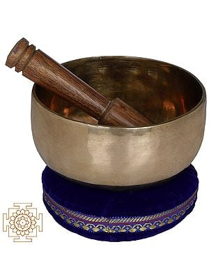 Tibetan Buddhist Bronze Singing Bowl