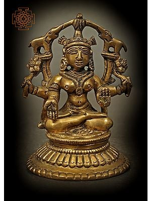 Chaturbhuja Gajalakshmi - Small Size