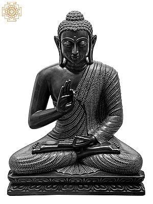 Large Superfine Tibetan Buddhist Robed in Polka Dots