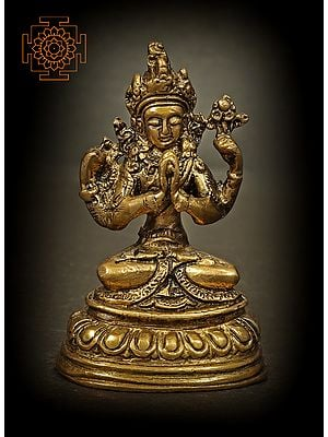 Chenrezig (Shadakshari Lokeshvara) - Tibetan Buddhist
